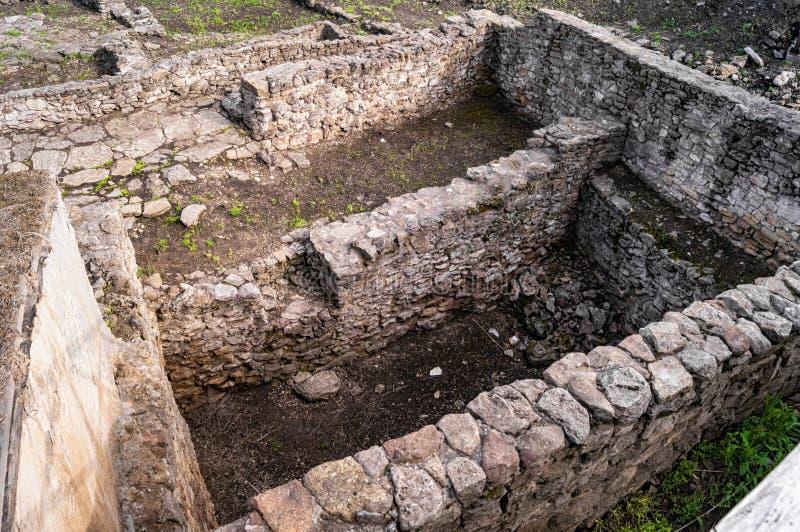 Archeological wykopaliska miasto Tanais obrazy royalty free