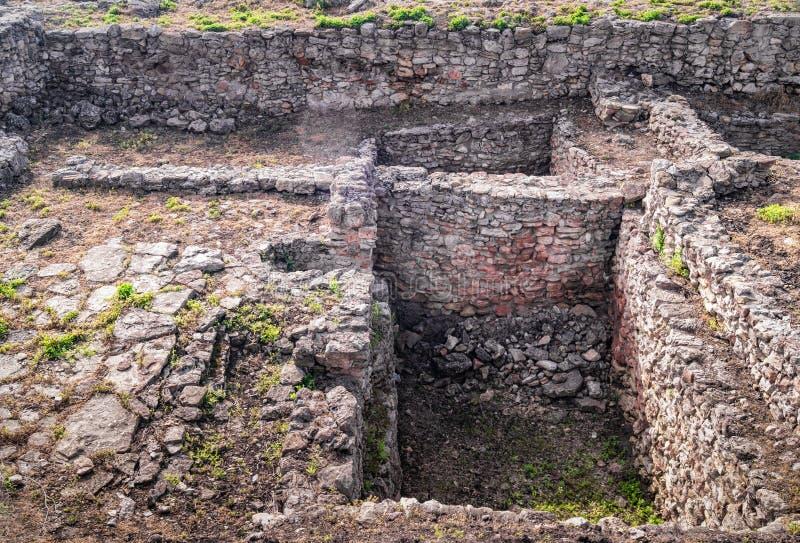 Archeological wykopaliska miasto Tanais fotografia stock