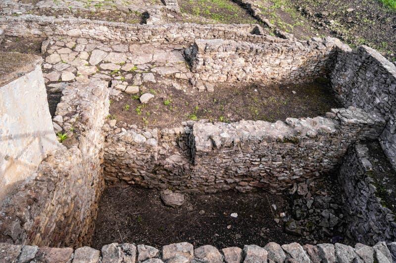 Archeological wykopaliska miasto Tanais zdjęcia stock