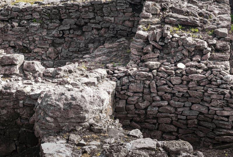 Archeological wykopaliska miasto Tanais obrazy stock
