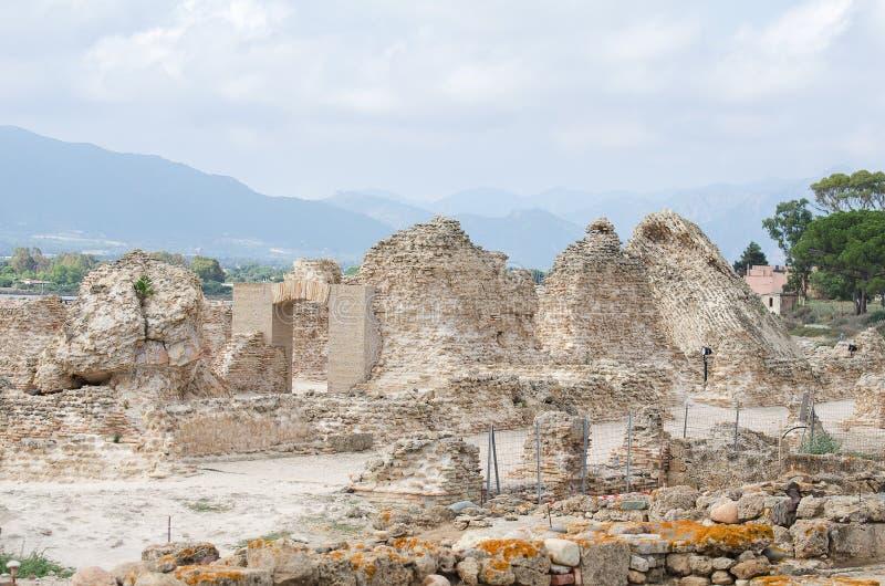 Archeologiczne ekskawacje zdjęcie stock