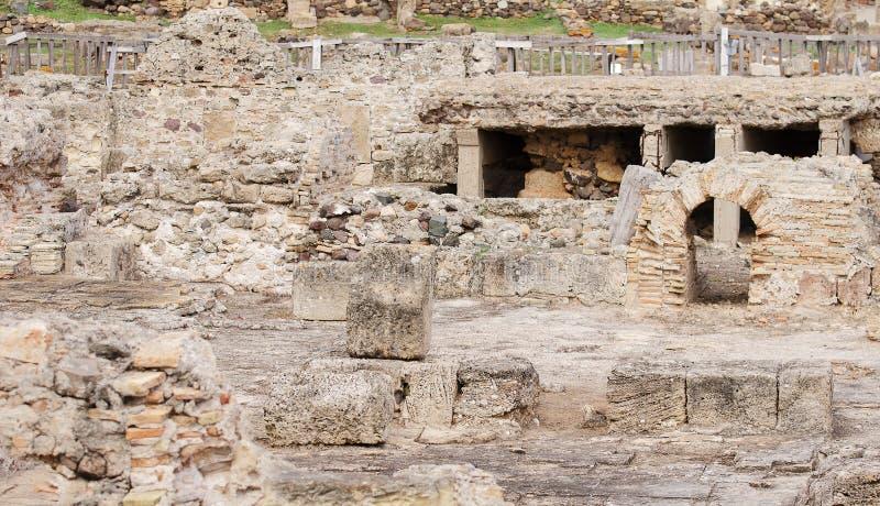 Archeologiczne ekskawacje fotografia stock