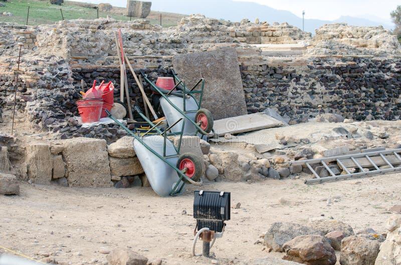 Archeologiczne ekskawacje zdjęcie royalty free