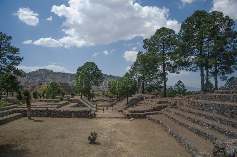 Archeologiczne ruiny w Meksyk zdjęcia royalty free