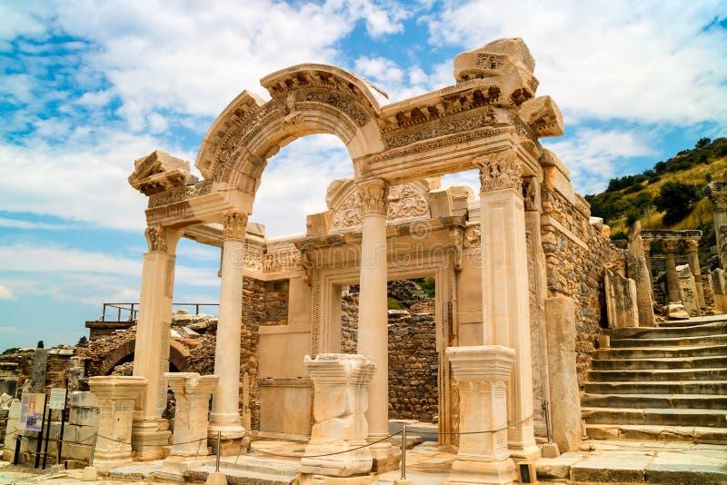 Archeologiczny miejsce Ephesus w Turcja zdjęcie stock