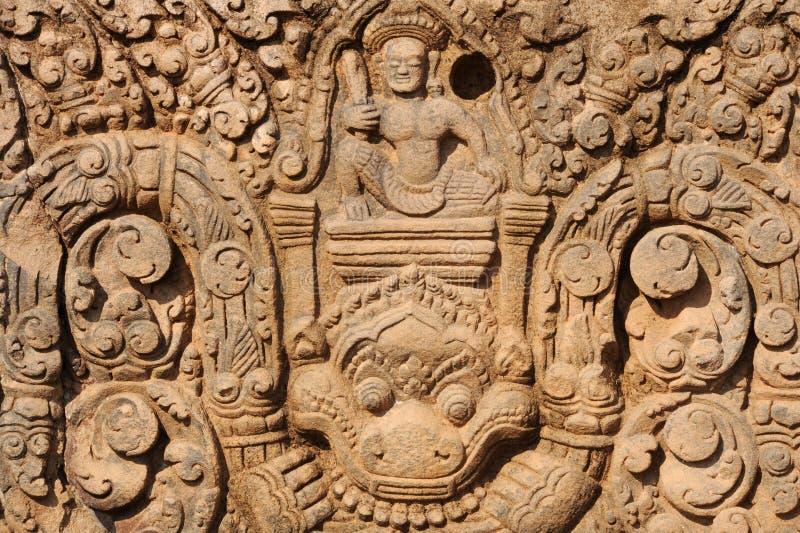 Archeologiczny miejsce Wat Phu blisko Champasak obraz stock