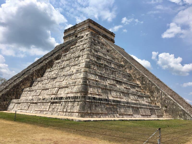 Archeologische plaats Chichen Itzà ¡ in Mexico stock fotografie