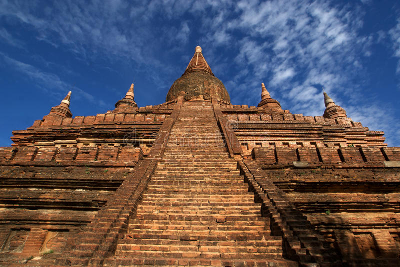 Archeologische plaats van Bagan - Myanmar   Birma royalty-vrije stock afbeeldingen