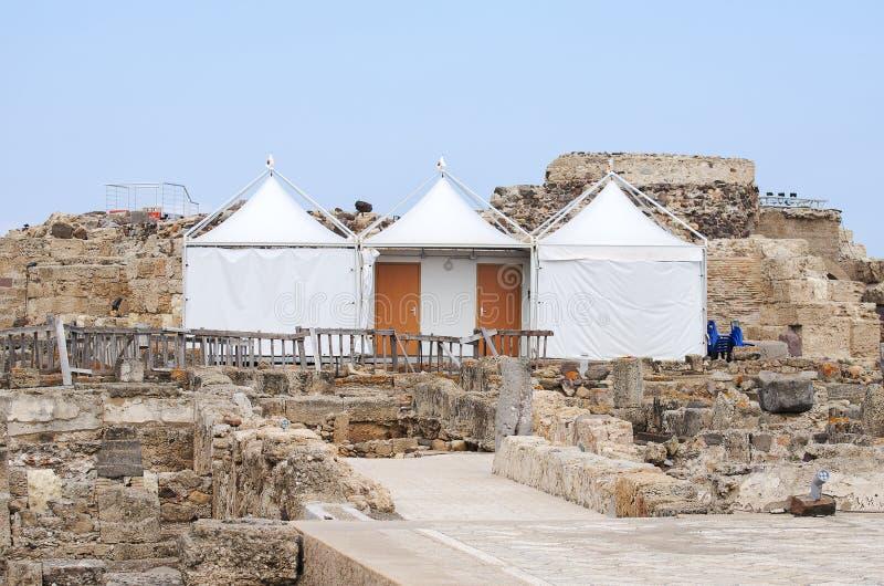 Download Archeologische Uitgravingen Stock Afbeelding - Afbeelding bestaande uit drie, reis: 39118683