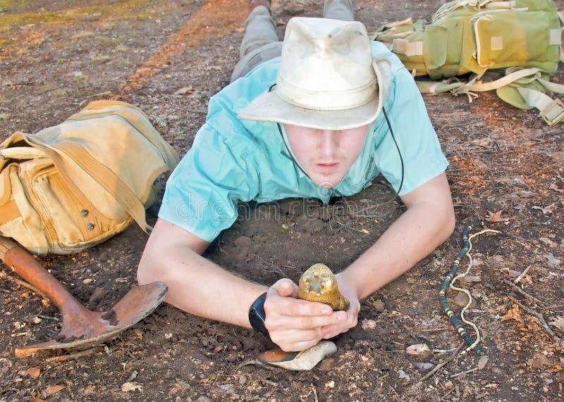 archeologist zdjęcie stock