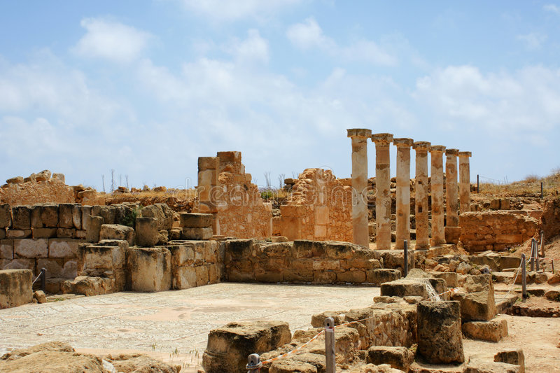 Download Archeology Area Near Paphos - Cyprus Stock Photo - Image: 5088078