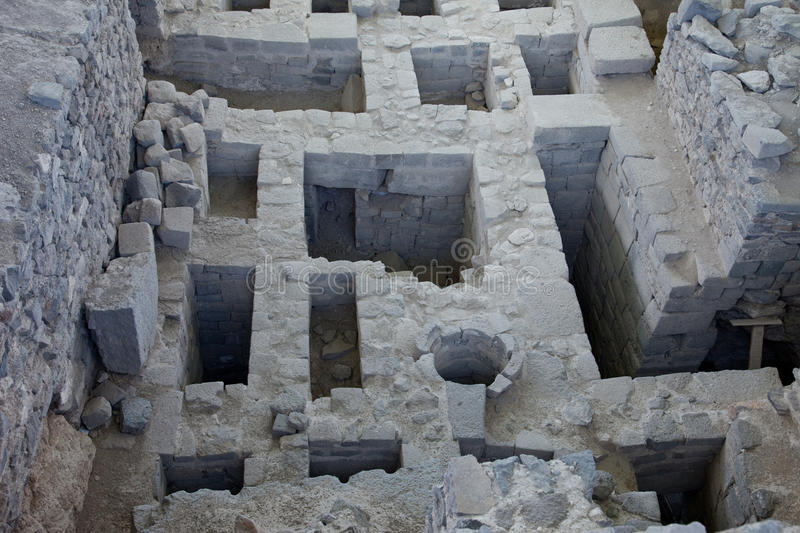 Archeology Area In Peru Stock Images