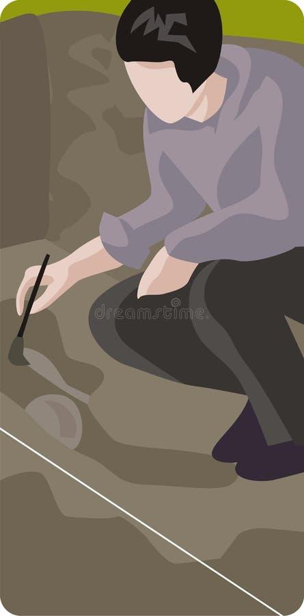 Download Archeology Illustration Series Stock Image - Image: 2557011