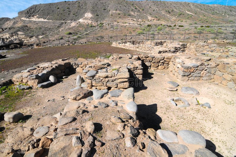 Download Archeology Site In Canary Islands Stock Image - Image: 38335691