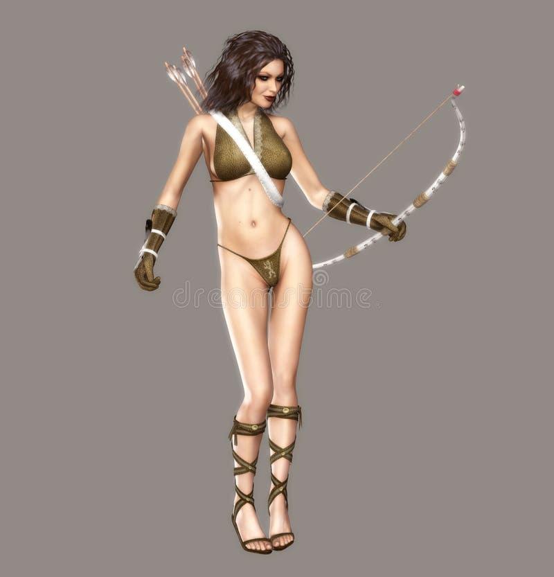 Download Archer stock illustration. Image of charming, fantasy - 11040542