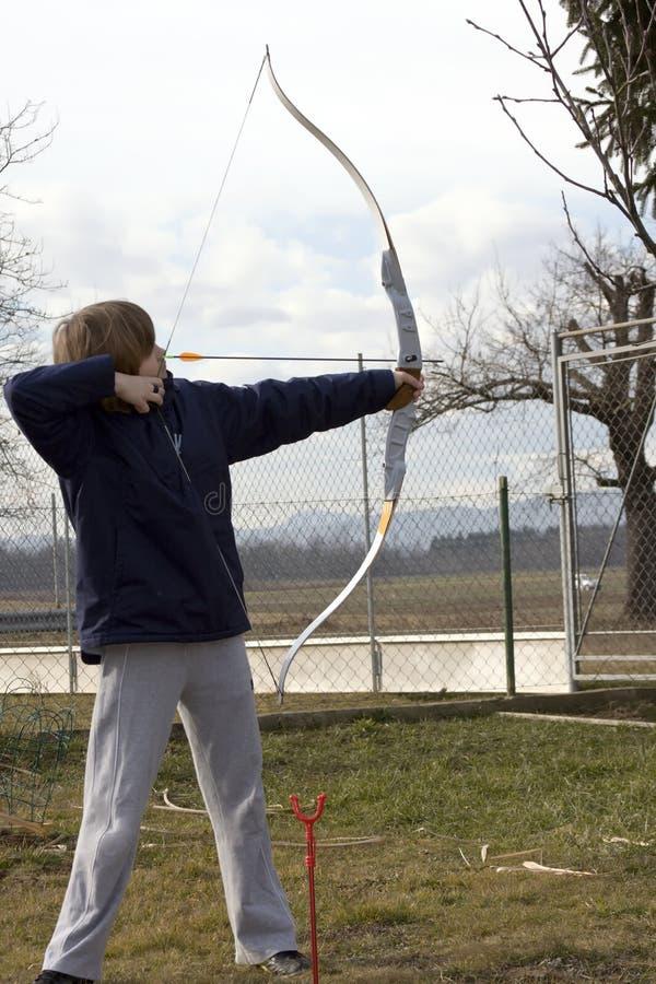 archer fotografia stock