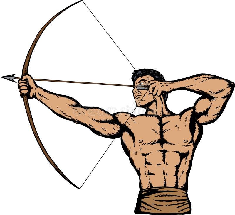 Archer stock de ilustración