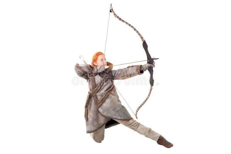 Archer de fille image stock