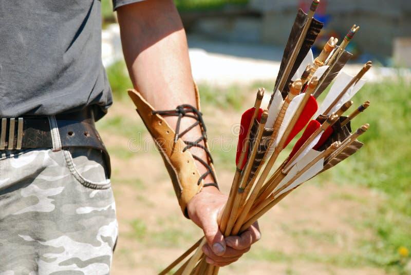 Archer e frecce immagini stock