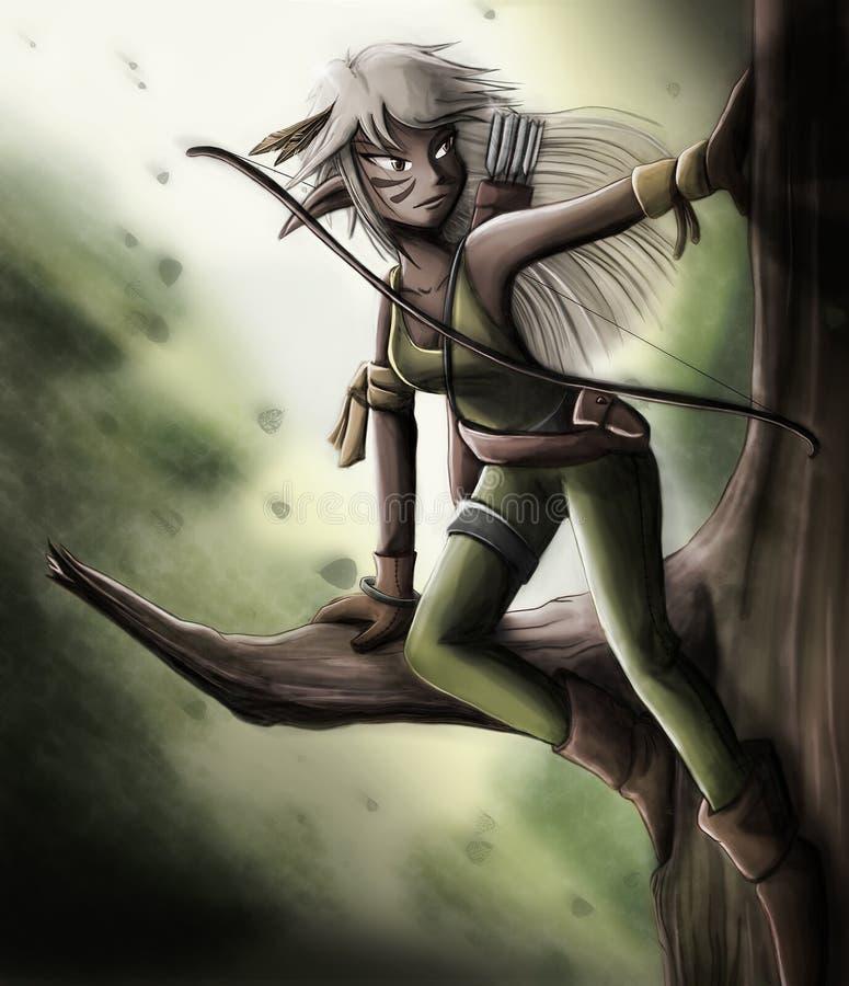 Archer Elf libre illustration