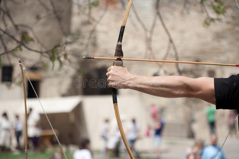 Archer. stock images