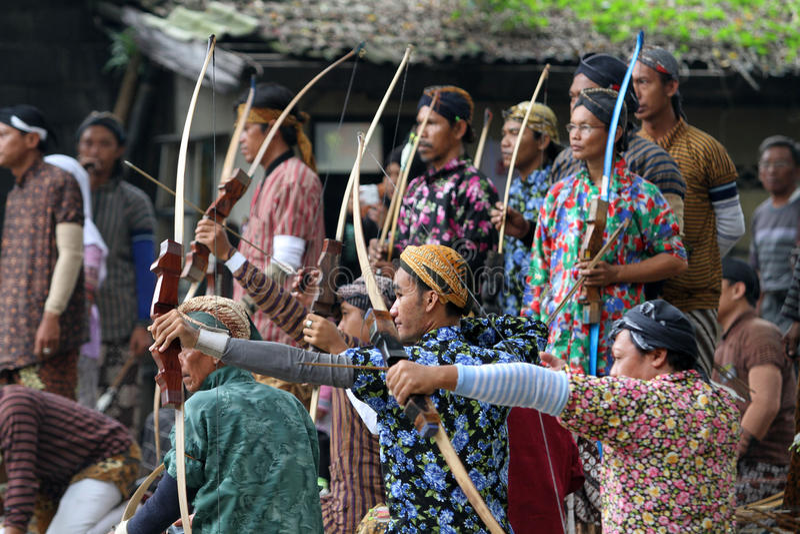 archers photographie stock libre de droits