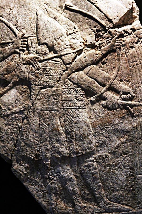 Archers assyriens photo stock