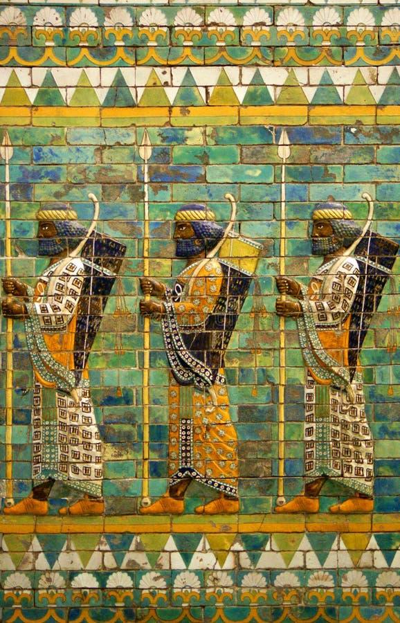Archers babyloniens image stock