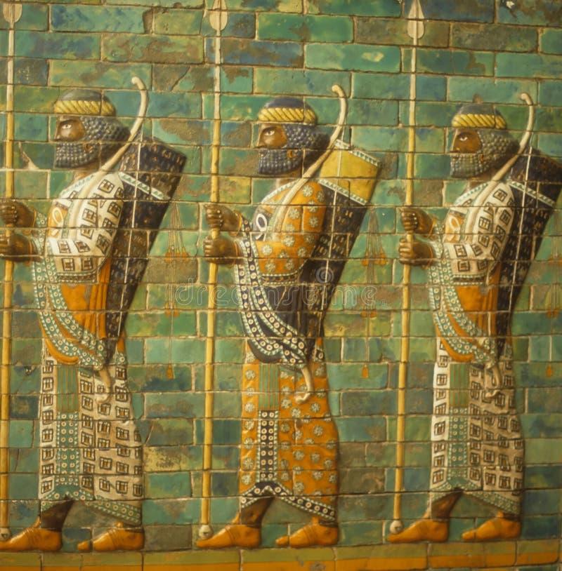Archers babyloniens, photographie stock libre de droits