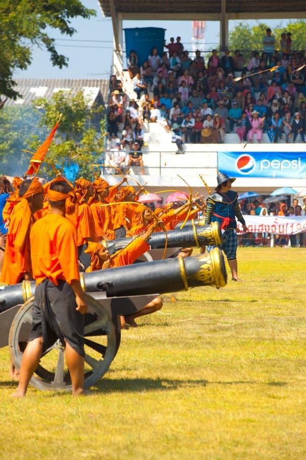 Download Archers Fire Arrow Battle Reenactment Editorial Stock Photo - Image: 24653448