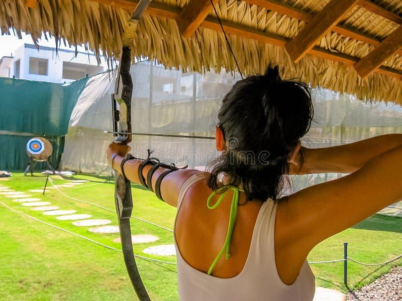 Archery спорта стрельбы стоковые фотографии rf
