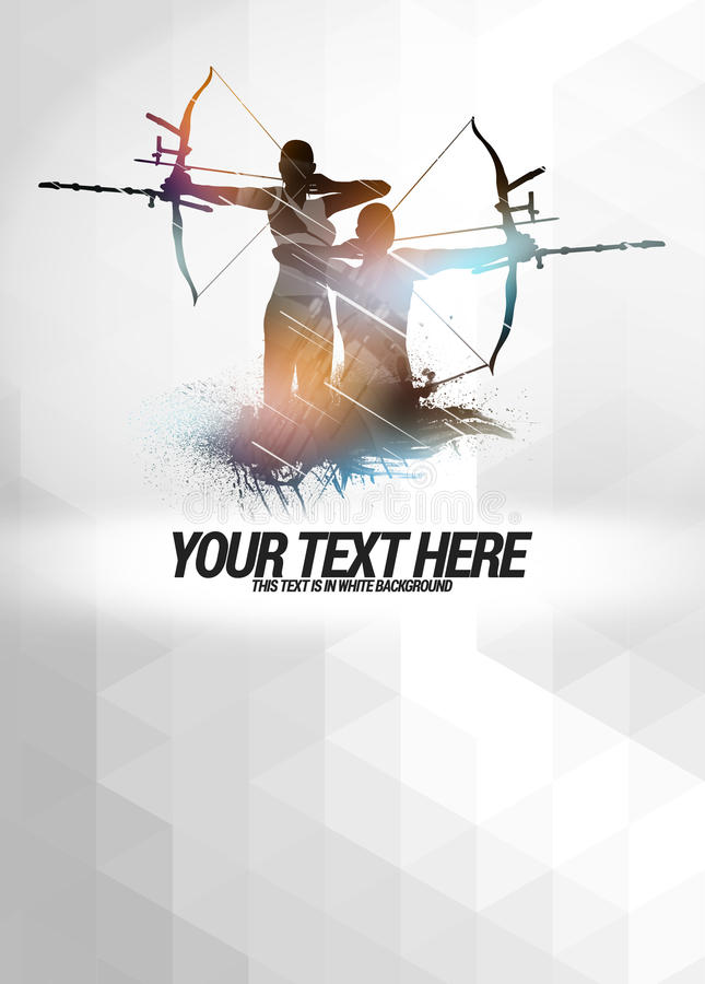 Free Archery Background Royalty Free Stock Images - 43444629