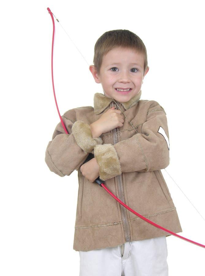 Free Archery Boy Four Stock Image - 418131