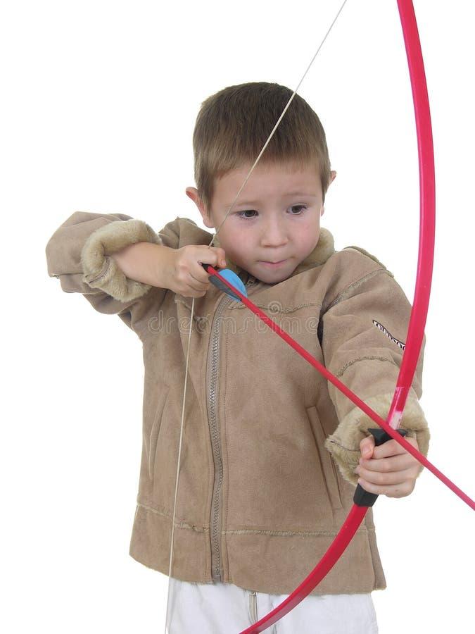Free Archery Boy Three Stock Photo - 418130