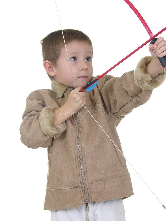 Free Archery Boy Two Royalty Free Stock Images - 418129