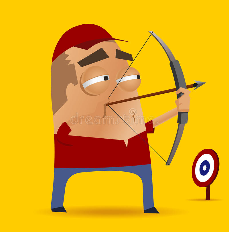 Download Archery competition stock vector. Image of accuracy, archer - 29236646