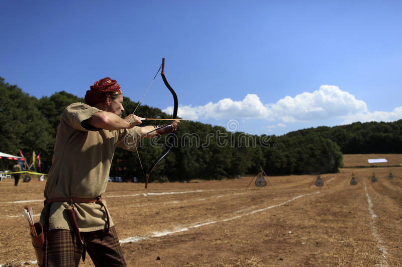 Download Archery Competition In Turkey Editorial Stock Image - Image of biga, nature: 33870739