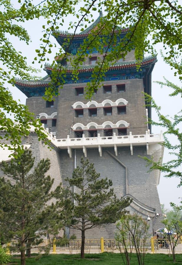 archery qianmen башня стоковая фотография