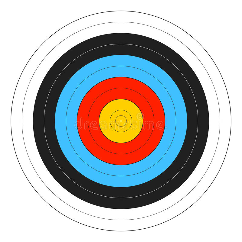 Archery Target vector illustration