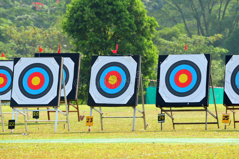 Download Archery Target Boards Royalty Free Stock Photos - Image: 4332338