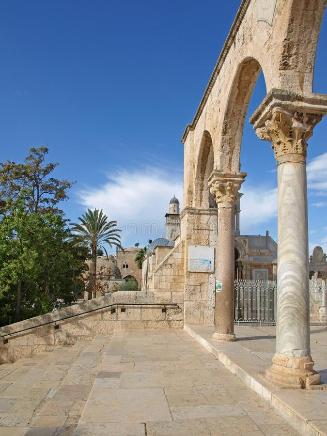 Download Arches stock photo. Image of middle, israel, rock, jerusalem - 17343250