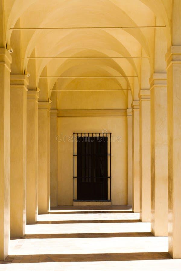 Arches At The Alcazar In Seville Stock Photos