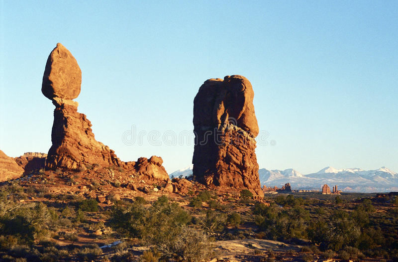 Download Arches National Park stock image. Image of ocean, america - 18194437
