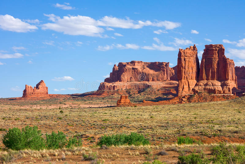 Download Arches National Park stock photo. Image of mountains - 25355866