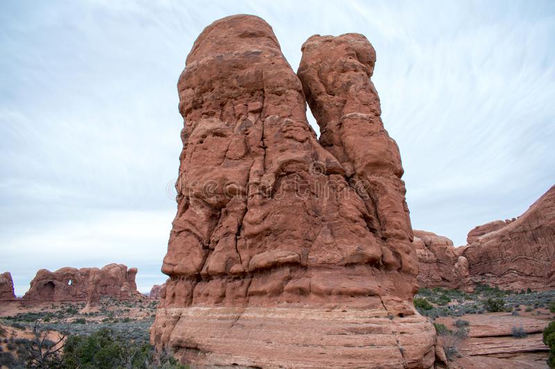 Arches National Park, Moab, Utah. royalty free stock photos