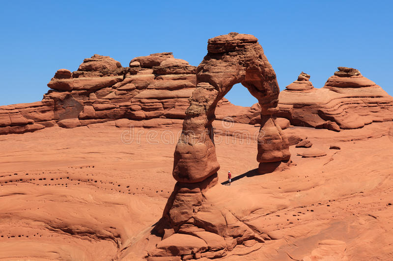 Arches National Park In Utah Stock Photos
