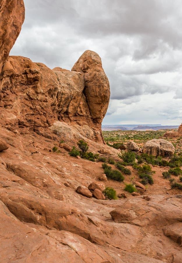 Arches National Park. Utah USA royalty free stock photo