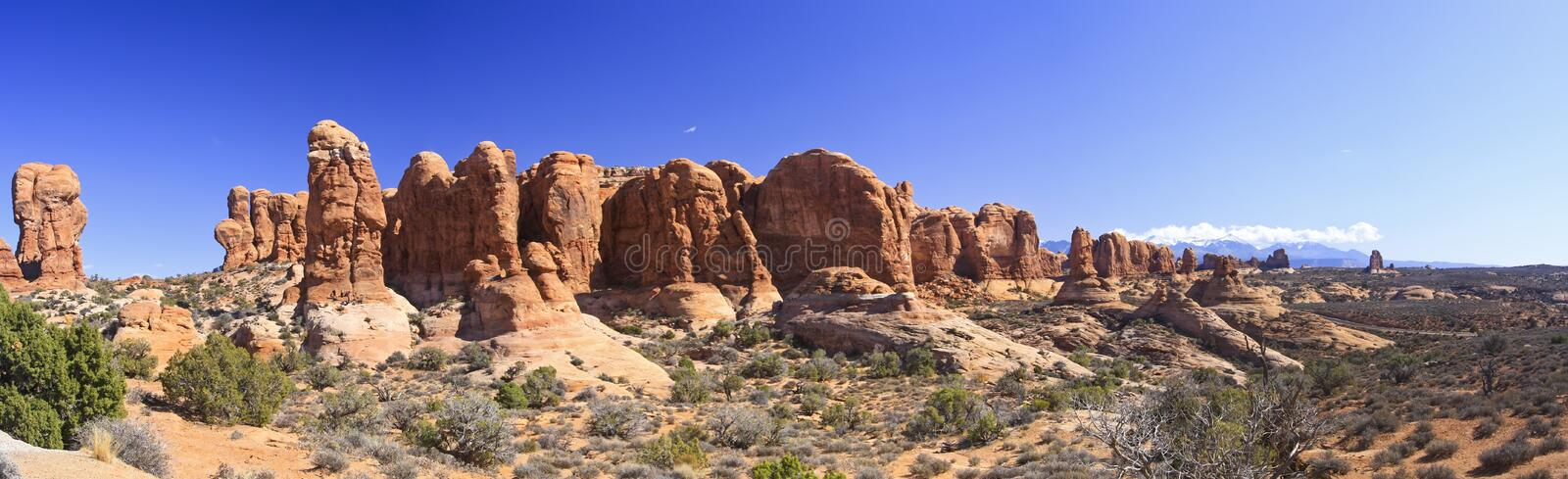 Download Arches Panoramic Of Garden Of Eden Stock Photo - Image: 11770312