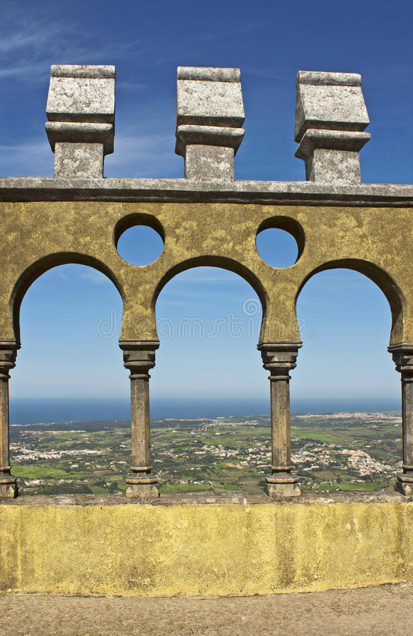 Download Arches of Pena palace stock image. Image of culture, landmark - 21108181