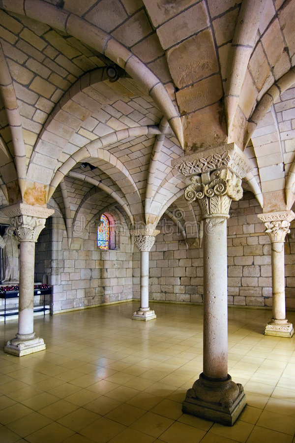 Arches and Pillars stock images